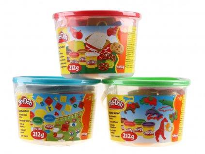 Play-Doh mini kyblík s kelímky a formičkami