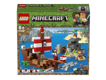 Lego 21152  Minecraft Dobrodružství pirátské lodi