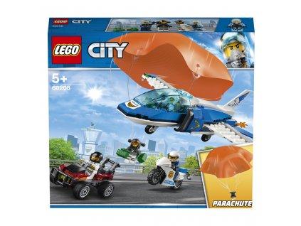 Lego 60208 City Zatčení zloděje s padákem