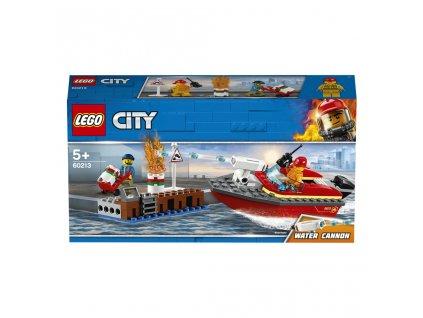 Lego 60213 City Požár v přístavu