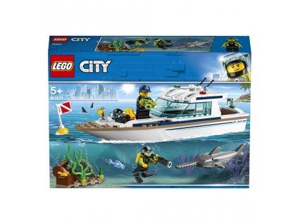 Lego 60221 City Potápěčská jachta