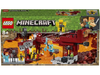 LEGO 21154 Minecraft Most ohniváků