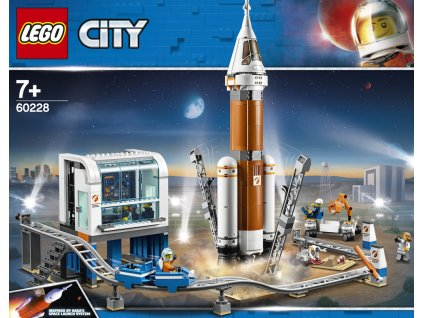 LEGO 60228 City Space Port Start vesmírné rakety