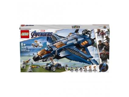LEGO 76126 Super Heroes Parádní tryskáč Avengerů