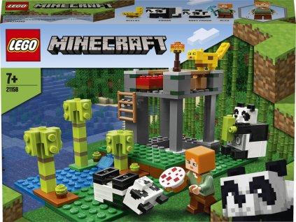 LEGO 21158 Minecraft Pandí školka