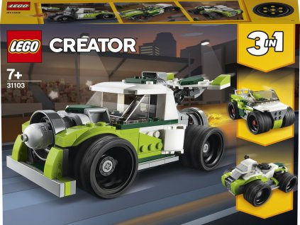 LEGO 31103 Creators Auto s raketovým pohonem