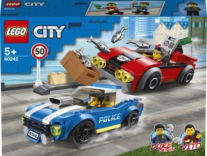 LEGO 60242 City Policejní honička na dálnici