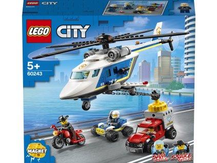 LEGO 60243 City Pronásledování s policejní helikoptérou