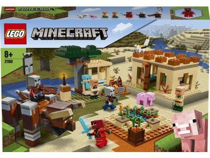 Lego 21160 Minecraft Útok Illagerů