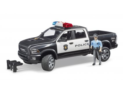 RAM 2500 Police terení auto s figurkou