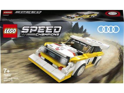 Lego 76897 Speed Champions 1985 Audi Sport quattro S1
