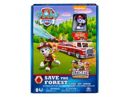 Tlapková patrola - hasičská hra