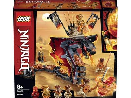 LEGO 70674 Ninjago Ohnivý tesák