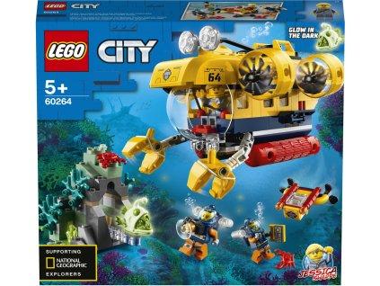 LEGO 60264 City Oceánská průzkumná ponorka