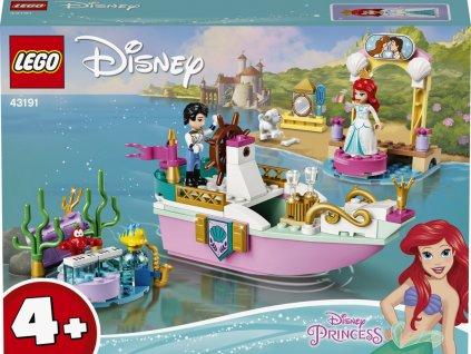 LEGO 43191 Disney Princess Arielina slavnostní loď