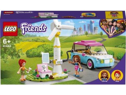 LEGO 41443 Friends Olivia a její elektromobil
