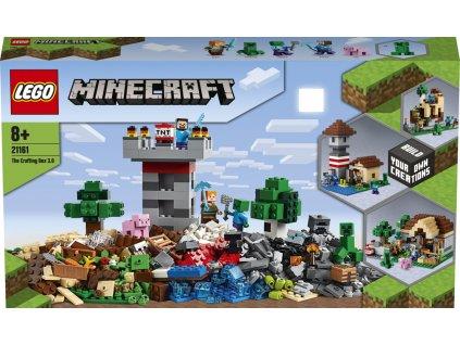 LEGO 21161 Minecraft Kreativní box 3.0