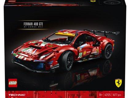 "LEGO® 42125 Technic™ Ferrari 488 GTE ""AF Corse #51"