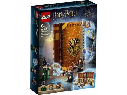 LEGO 76382 Harry Potter Kouzelné momenty z Bradavic: Hodina přeměňování
