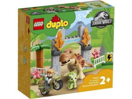 LEGO 10939 Duplo T-rex a triceratops na útěku