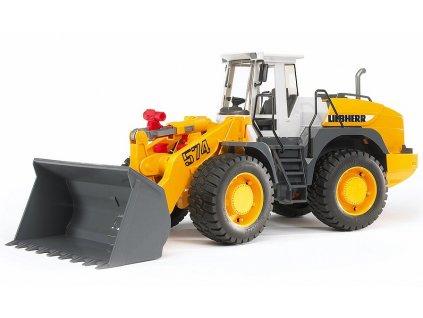BRUDER 2430 Žlutý NAKLADAČ LIEBHERR L574