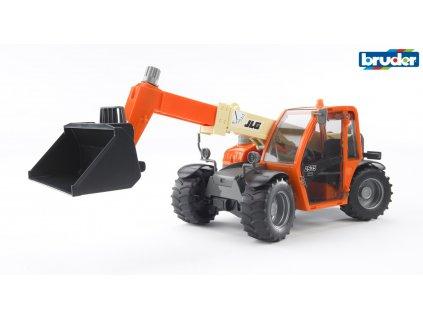 BRUDER 2140 Oranžový MANIPULÁTOR JLG 2505