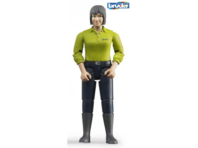 Figurka žena,tmavé kalhoty  značky Bruder - BR 60405