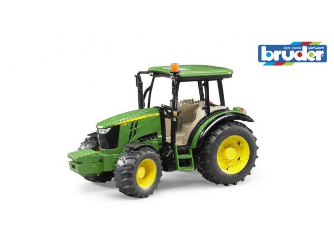 Zelený TRAKTOR JOHN DEERE 5115M značky Bruder - BR 02106