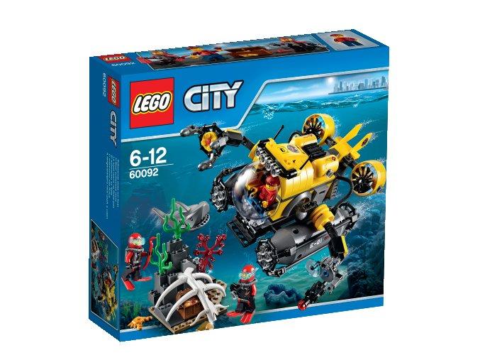 LEGO City 60092 Deep Sea Explorers,hlubinná ponorka