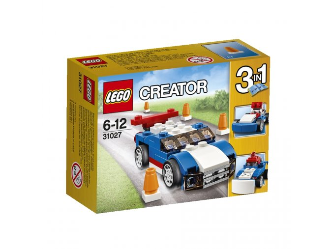 LEGO  Creator 31027 Modrý závodák