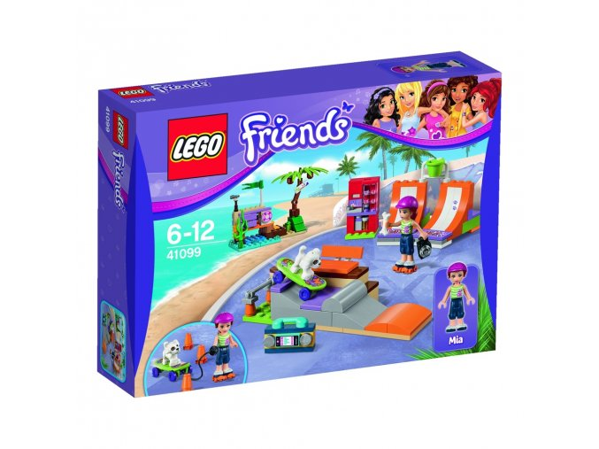 LEGO Friends 41099  Skatepart v mestecku Heartlake