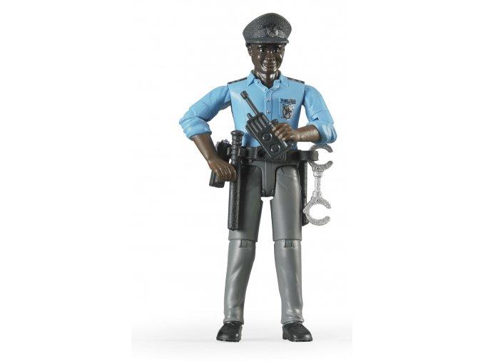 BRUDER 60051 Figurka - policista (snědá pleť)