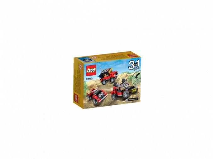 LEGO 31040 Creator Pouštní závodáky
