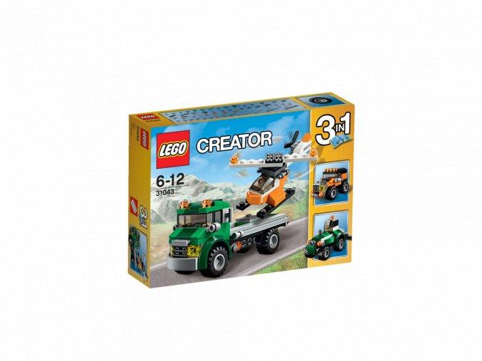 LEGO 31043 Creator Dopravní vrtulník