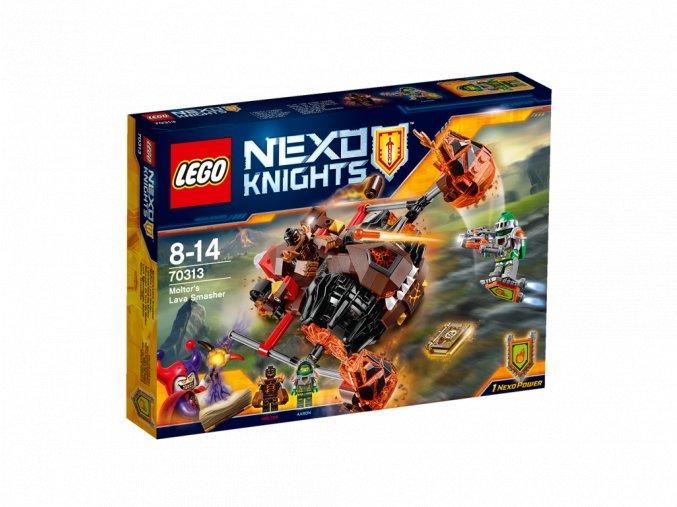 LEGO 70313 Nexo Knights Moltorův lávový drtič