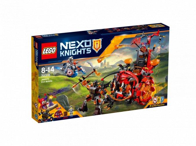 LEGO 70316 Nexo Knights Jestrovo hrozivé voz