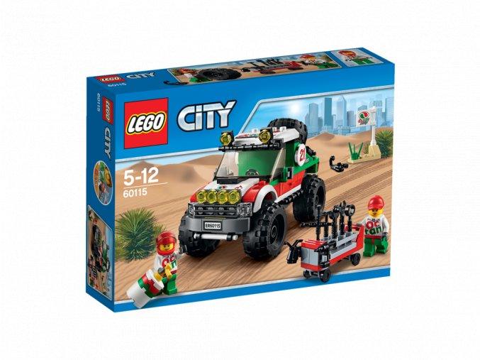 LEGO 60115 City Terenní vozidlo 4x4