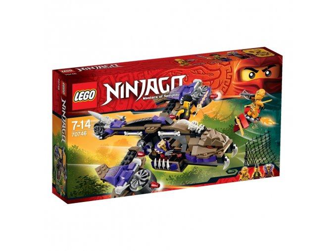 LEGO 70746  NINJAGO Útok Condraiovy helikoptéry