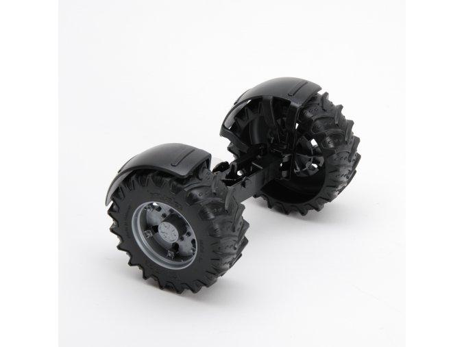 Náhradní díl pro Bruder BR 03098 - Přední náprava pro traktory Deutz,Same,Lamborghini,Case