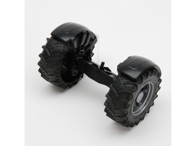 Náhradní díl pro Bruder BR 03030 - Přední náprava pro traktory JCB Factrac BR 03030