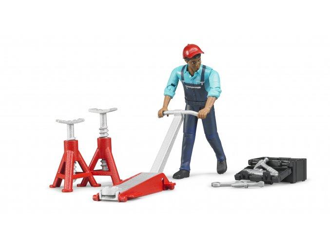 BRUDER 62100 Figurka mechanik s nářadím