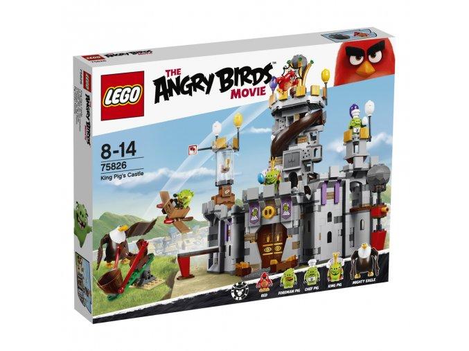 LEGO 75826  Angry Birds Hrad krále Prasete