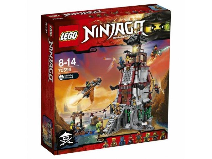 LEGO 70594 NINJAGO Obléhání majáku