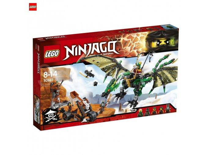 LEGO 70593 NINJAGO Zelený drak NRG