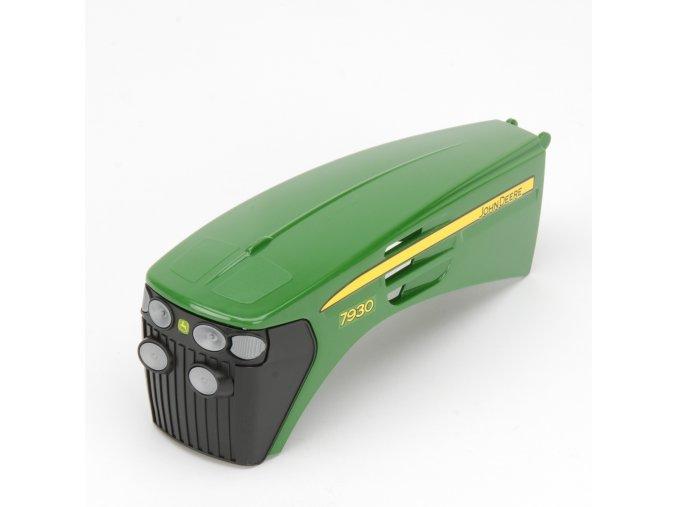 Náhradní díl pro Bruder BR 03050 - kapota pro traktor John Deere 7930