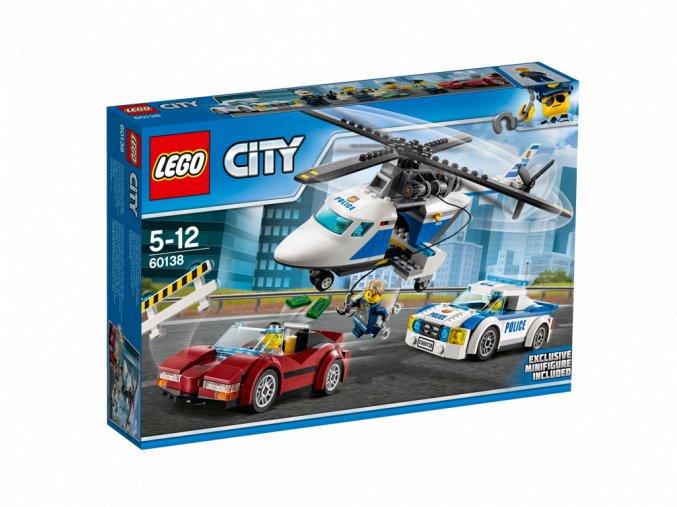 Lego 60138 City Honička ve vysoké rychlosti