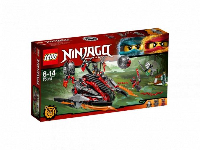 LEGO 70624 Ninjago Ničivé vozidlo rumělkových válečníků