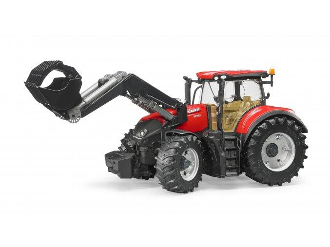 BRUDER 3191 Traktor CASE IH Optum 300 + čelní nakladač