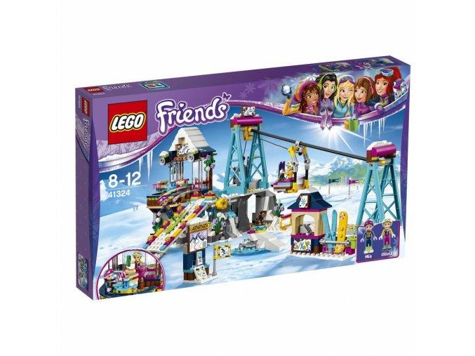 Lego 41324 Friends Lyžařský vlek v zimním středisku