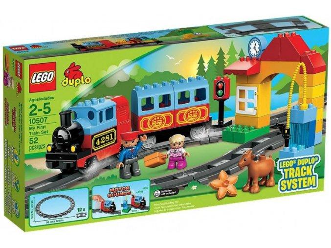 LEGO 10507 DUPLO Můj první vláček